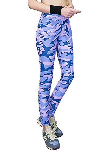 負担仮定、想定。推測夢中(ラァシンキュー)LAXINQ スポーツ レギンス タイツ ヨガ ズンバ パンツ ファッション 総柄 レディース