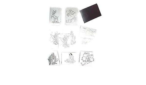 Artesanía 10 imanes 5 x 7 cm para Colorear con Personaje ...