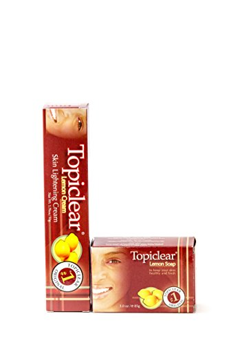 (TopiClear Lemon Cream & Lemon Soap DUO Bundle + FREE Tube Squeezer by Topiclear)
