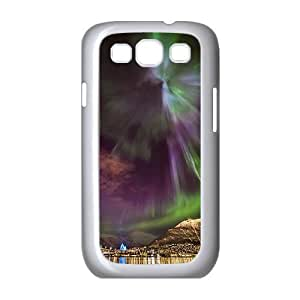 The Aurora Borealis Customized Cover Case with Hard Shell Protection for Samsung Galaxy S3 I9300 Case lxa#379707