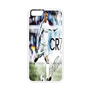 iPhone6s Plus 5.5 inch Phone Case White Cristiano Ronaldo ZIC440855