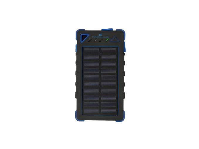 Salvador Bachiller Mochila con Power Bank Solar powersolar 6405-1 Marino: Amazon.es: Equipaje