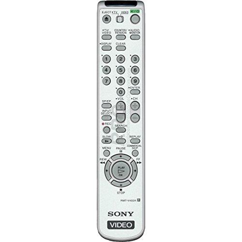 Original Sony RMT-V402A VCR Remote Control for SLV-N500, SLV-N55, SLV-N650, SLV-N700, SLV-N750, SLV-N77, SLV-N88, SLV-N900