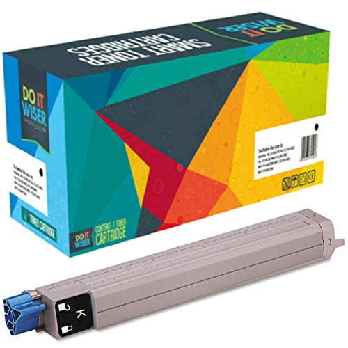 Do it Wiser Compatible Toner Cartridge Replacement for Xerox Phaser 7400 7400dn 7400n | 106r01080 (Black 15,000 Pages) ()