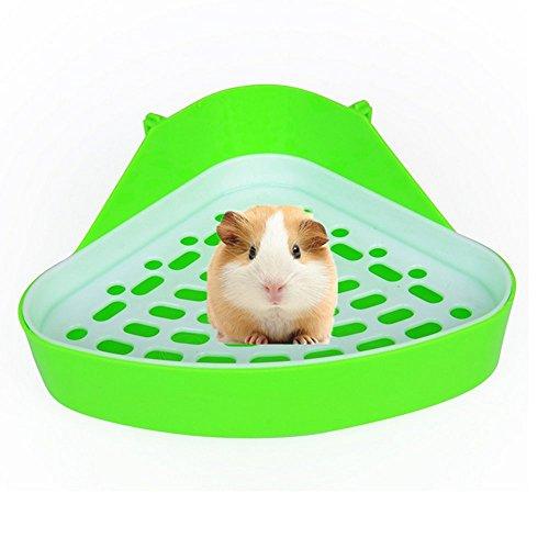 BaiJia - Inodoro para Mascotas de tamaño pequeño, Cuadrado, para Esquina, arenero, Caja de Ropa de Cama, sartén para...