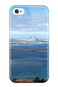 Holly Gunther's Shop New Style Faddish Golden Gate Bridge Case Cover For Iphone 4/4s