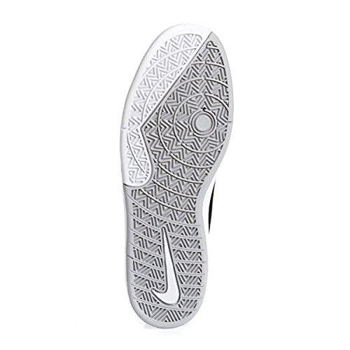 Nike Takedo SB, Zapatillas de Skateboarding para Hombre Negro / Blanco  (Black/White-Wolf Grey)
