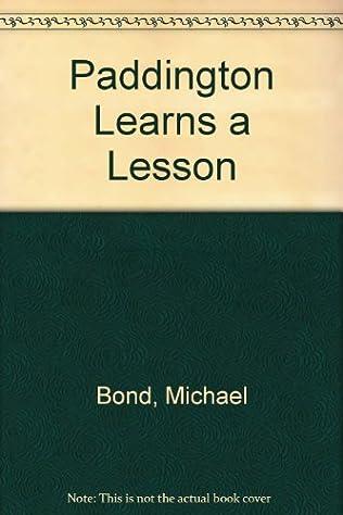 book cover of Paddington Learns a Lesson