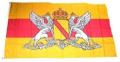 Flaggen/Fahnen, Großherzogtum Baden, Mehrfarbig, 150 cm breit x 90 cm, 16348