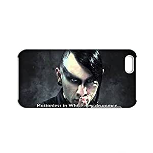 linJUN FENGGeneric Hard Back Phone Case For Teens Design With Motionless In White Miw For iphone 5/5s Full Body Choose Design 1-3