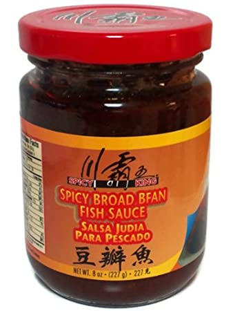 Spicy Broad Bean Fish Sauce - Two 8 oz Jars