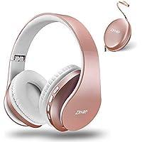 Zihnic zihus816 Over-Ear Wireless Bluetooth Headphones (Rose Gold)