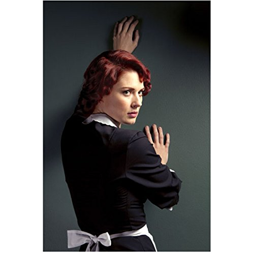 American Horror Story Alexandra Breckenridge as Young Moira Against Wall Looking 8 x 10 Inch Photo -