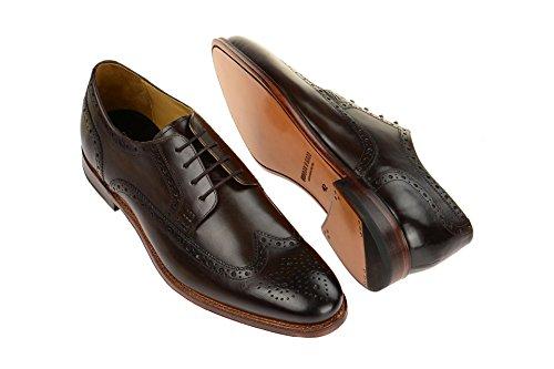 Gordon & Bros5093-f Tdm 218 - zapatos con cordones Hombre marrón oscuro