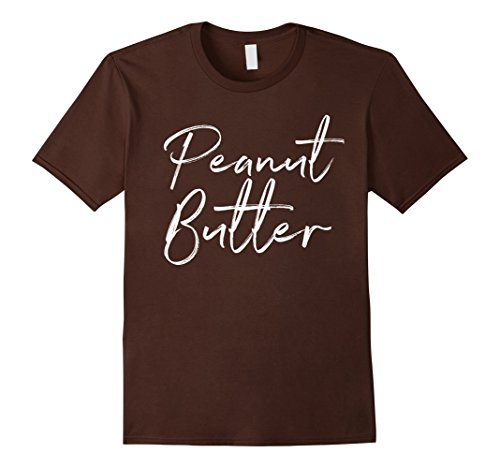 Mens Peanut Butter Matching Jelly Shirt Couples Halloween Costume XL -