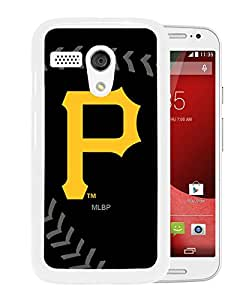 For Moto G,Pittsburgh Pirates White Protective Case For Moto G