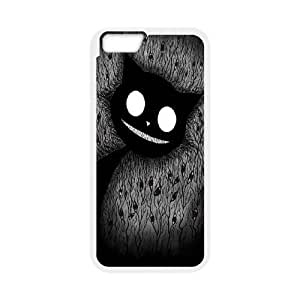"""JenneySt Phone CaseAlice and Cheshire Cat Pattern For Apple Iphone 6,4.7"""" screen Cases -CASE-16"""