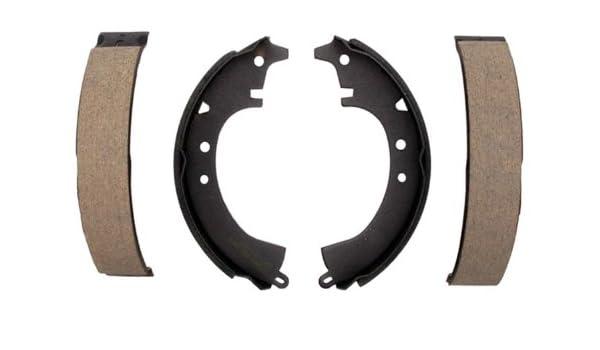 ACDelco 17407B Professional Bonded Rear Drum Brake Shoe Set