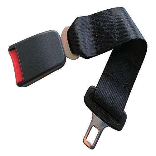Dunnomart Hot Car Styling Universal Car Seat Belt Seatbelt Extention Extender Safety Buckle Black Type Interior Accessories 14' Length