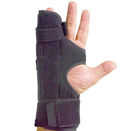Boxer Splint (Right)- Medium Metacarpal Splint for Boxer's Fracture, 4th or 5th Finger Break, All Sizes Available, Left or Right, by American Heritage Industries (Boxer Splint Large)