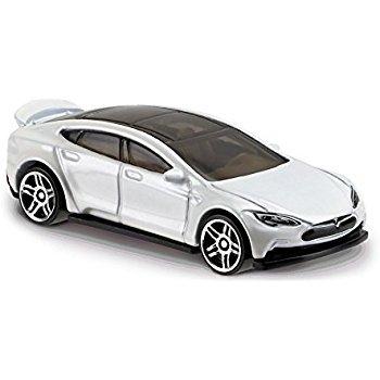 TESLA Model S White Diecast Ceiling Fan Light Pull & Ornament 1/64 Scale (Tesla Model S - WHITE) (Christmas X Model Tesla)