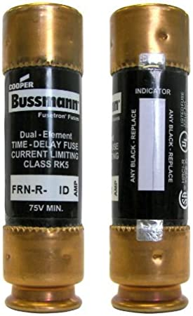 Bussmann Fusetron Frn-r-60 Fuse Dual Element Time Delay Class Rk5 FRNR60 for sale online