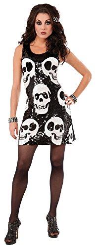 Forum Novelties Womens Sequin Skull