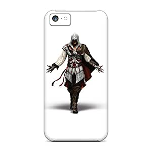 Iphone 5c AAZ1488VdIE Allow Personal Design High-definition Assassins Creed 2 Image Best Hard Phone Cases -TimeaJoyce