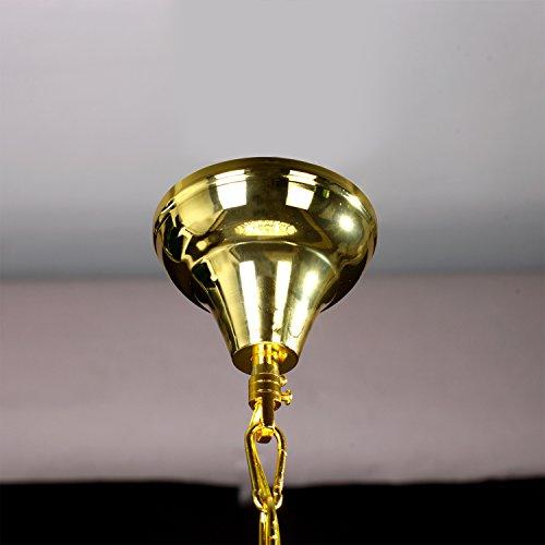 Lightinthebox European-Style Luxury 6 Lights Chandelier In Crown Shape, Crystal Home Ceiling Light Fixture, Pendant Light Chandeliers Lighting for Dining Room, Bedroom, Living Room by LightInTheBox (Image #3)