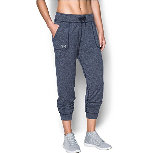 Under Armour Womens Twisted Tech Pant  Midnight Navy Midnight Navy  Xx Large