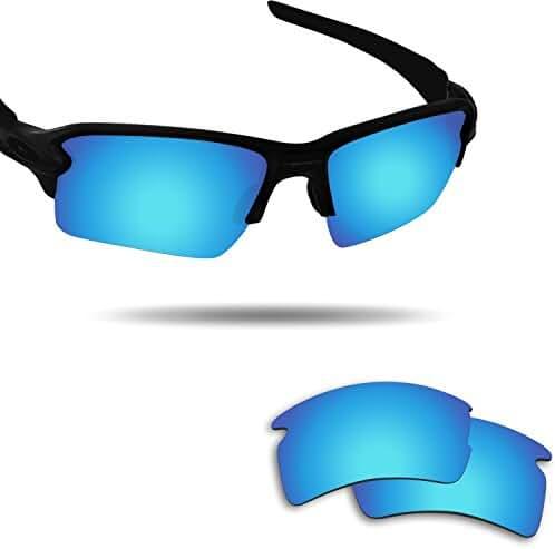 Fiskr Anti-saltwater Polarized Replacement Lenses for Oakley Flak 2.0 XL Sunglasses