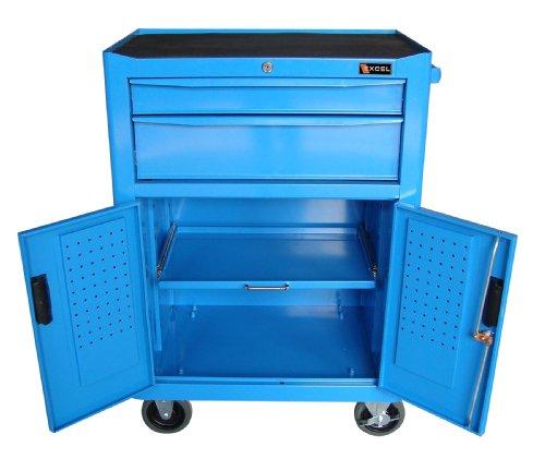 6-Inch Steel Roller Cabinet, Blue (Excel Roller Cabinet)