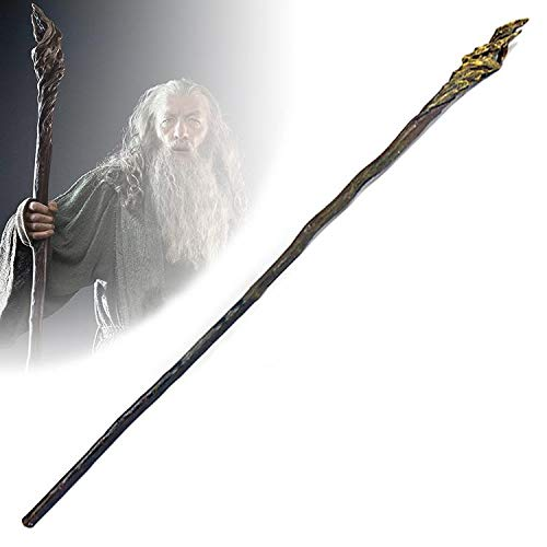 RealFireNSteel The Hobbit and Lord of The Rings - Gandalf's Staff (Radagast Of Staff)