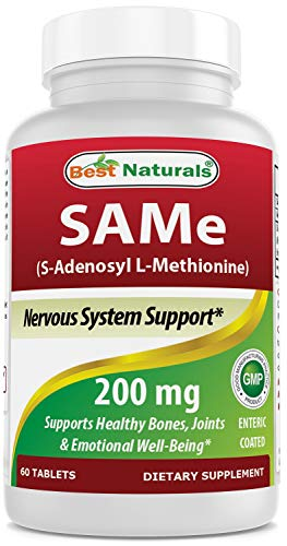 (Best Naturals Sam-e Enteric Coated 200 mg 60 Tablets)