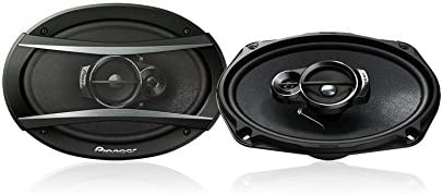 Cone Construction IMPP Pioneer TS-A6966 A Series 6 X 9 420 Watts Max 3-Way Car Speakers Pair with Carbon and Mica Reinforced Injection Molded Polypropylene