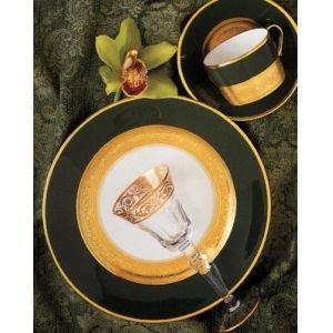 Faberge Empire Vert Tea Saucer - Vert Tea Saucer