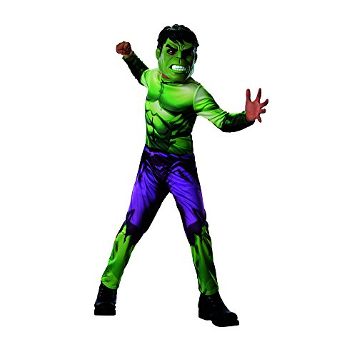 Incredible Hulk Child Costume (Rubies Marvel Universe Classic Collection Avengers Assemble Incredible Hulk Costume, Child Small)