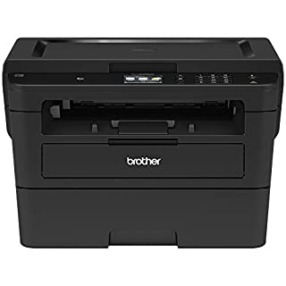 "Brother Printer RHLL2395DW Monochrome Printer with Scanner and Copier 2.7"" (Renewed)"
