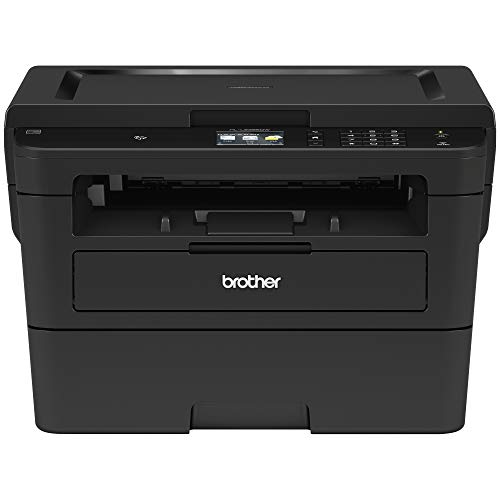 Brother Printer RHLL2395DW Monochrome Printer with Scanner and Copier 2.7″ (Renewed)