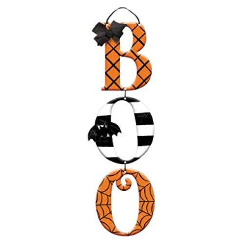 Halloween Friendly Letter (amscan Hallows' Eve Boo Triple Sign, Halloween)