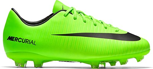 Nike Jungen Jr Mercurial Vortex Iii (V) Fg Fußballschuhe ELECTRIC GREEN/BLACK