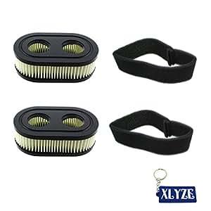 xlyze pre-filtro filtro de aire para Briggs & Stratton 79851309P702424754325432K 593260798452