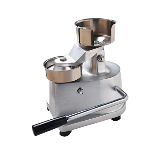 ITOPKITCHEN 100mm-130mm Manual Hamburger Press Burger Forming Machine Round Meat Shaping Aluminum Machine Forming Burger Patty Makers Delivered in The United States (100mm)