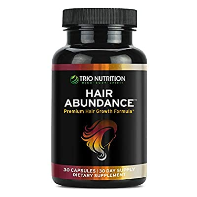Biotin 10.000mcg – Vitaminas para el crecimiento del cabello para un cabello más fuerte y más saludable, piel y uñas | Potenciado con minerales esenciales, colágeno y queratina – Pestañas más gruesas | para mujeres y hombres | Trio Nutrition*