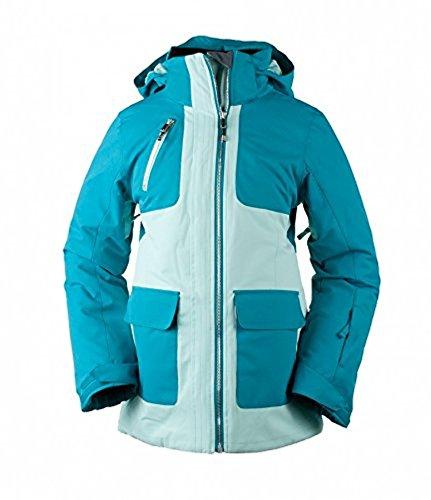 Obermeyer Teen Girls June Jacket Sea Glass XL & E-tip Glove Bundle by Obermeyer