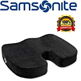 Samsonite SA5450 Orthopedic Cushion  Helps Relieve Pain  100% Pure Memory Foam  Fits Most Seats