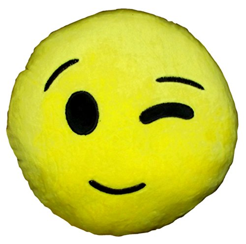 Royal Deluxe Emoji Face Pillow product image