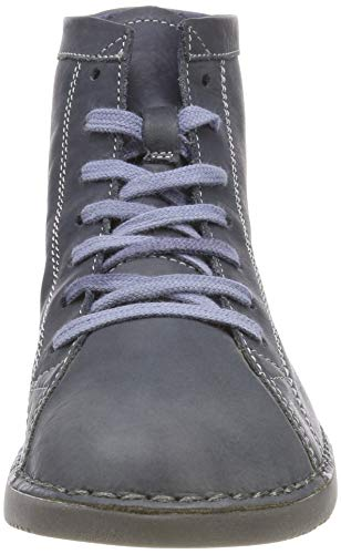 Bleu Femme 003 Leather Toz474sof Navy Bottines Washed Softinos q07xwXnSIF