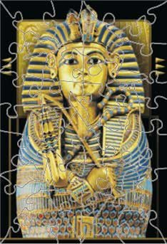 King Tut Wooden Jigsaw Puzzle