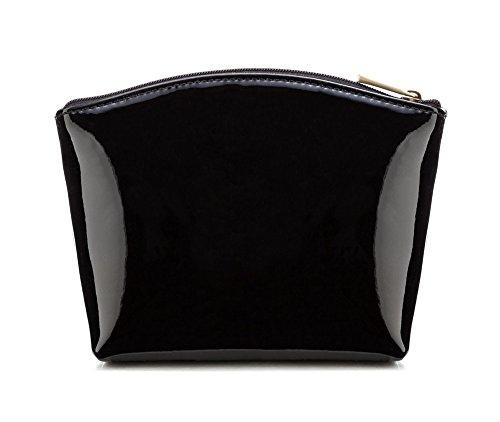 Noir 3 cm taille Cuir verni Wittchen x 116 16 Collection 12 Largeur Vanity 25 cm Couleur Verona 1 La PBxxaE